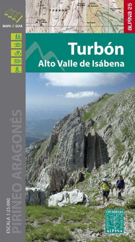 Turbon - Alto Valle de Isabena Editorial Alpina 1:25,000 - 304